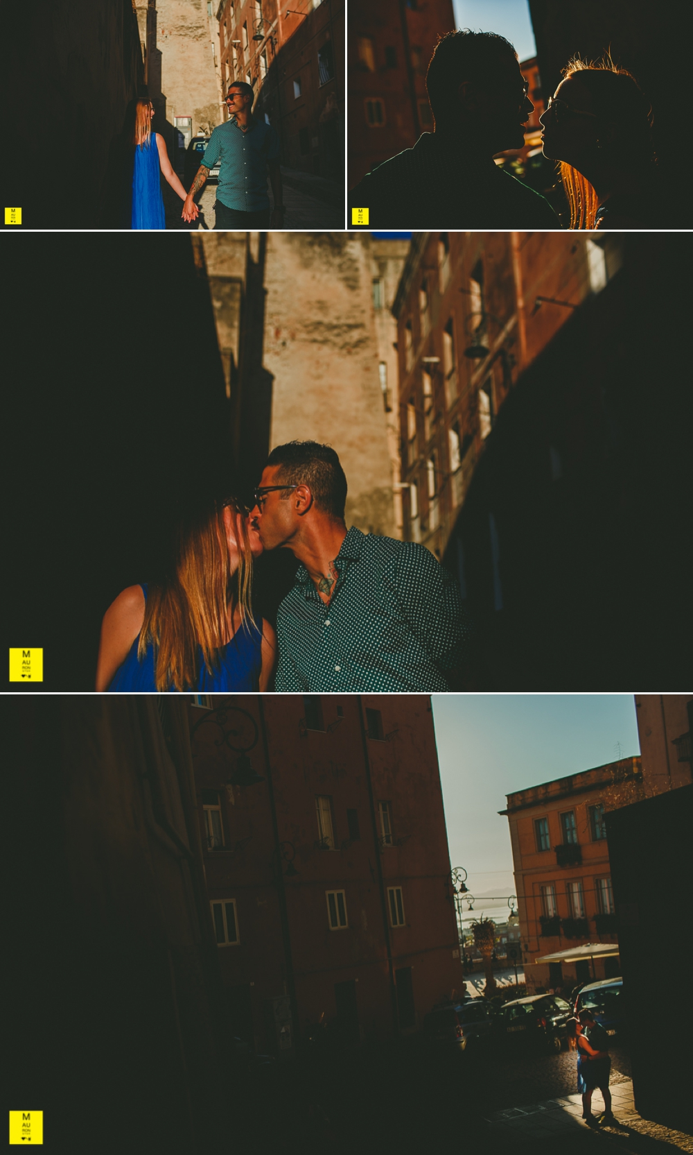engagement session in cagliari